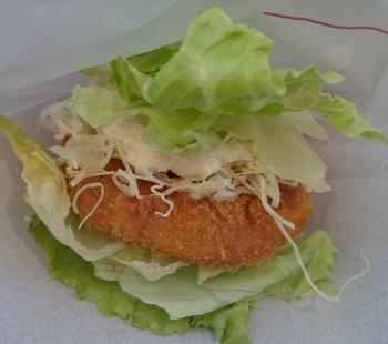 モスの菜摘海老カツ